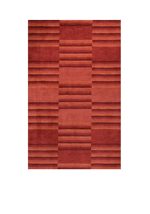 "Momeni Gramercy Gradient Red Area Rug 26"" x"