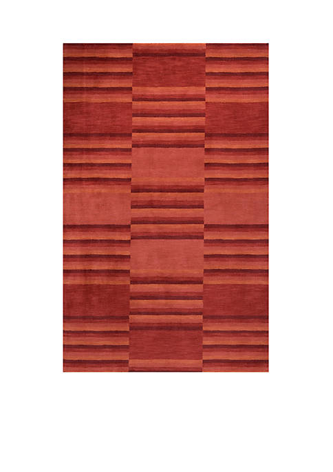 Momeni Gramercy Gradient Red Area Rug 5 x