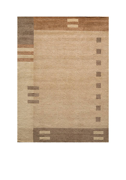 "Momeni Gramercy Geometric Brown Area Rug 36"" x"
