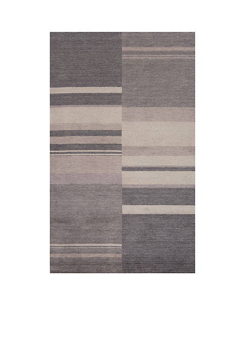 Momeni Gramercy Vintage Charcoal Area Rug 5 x