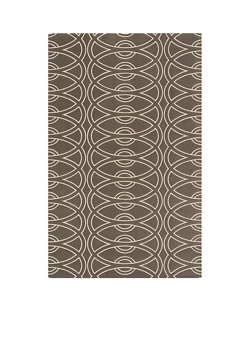 Elements Links Gray Area Rug 2 x 3
