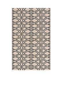 Elements Links Ivory Area Rug 2'6\