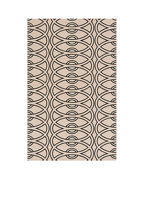 Momeni Elements Links Ivory Area Rug 3 x