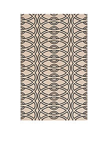 Elements Links Ivory Area Rug 3' x 5