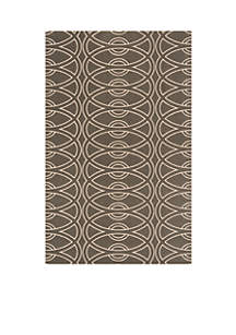 Elements Links Gray Area Rug 3' x 5'