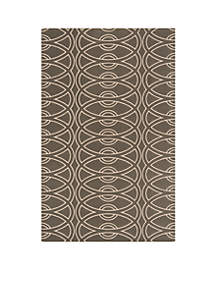 Elements Links Gray Area Rug 5' x 8'