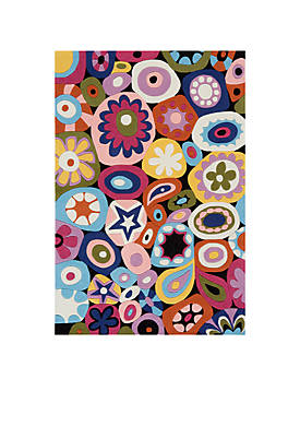 Lil Mo Hipster Confetti Area Rug 3 x 2