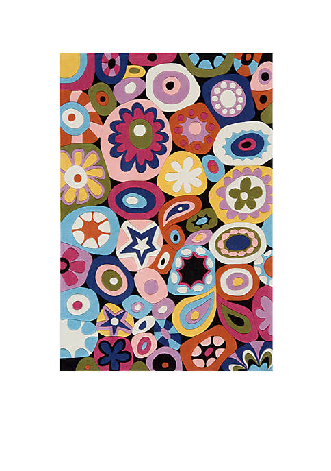 Lil Mo Hipster Confetti Area Rug 7 x 5