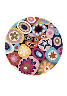 Lil Mo Hipster Confetti Area Rug 5' Round