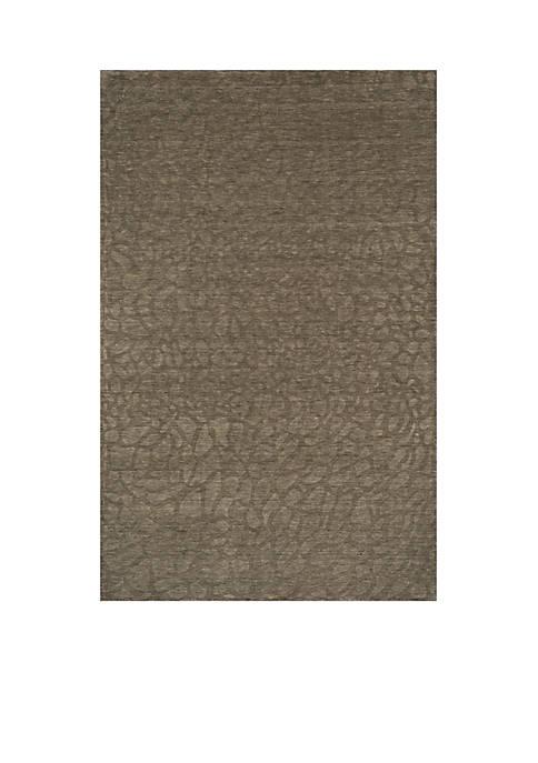 Momeni Gramercy Pebbles Sage Area Rug 5 x