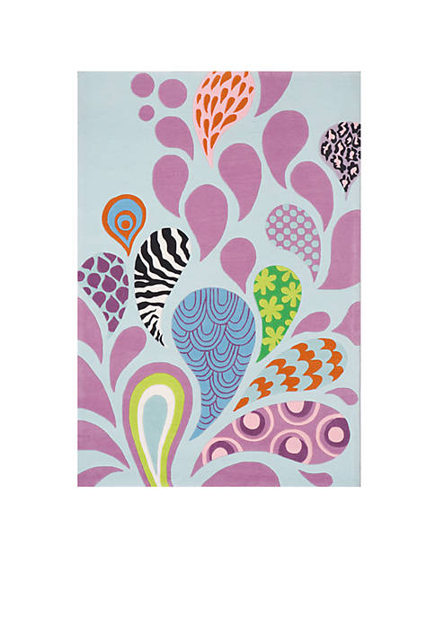 Lil Mo Hipster Paisley Area Rug 2 x 3