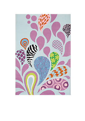 Lil Mo Hipster Paisley Area Rug 3 x 5