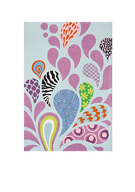 Lil Mo Hipster Paisley Area Rug 4 x 6