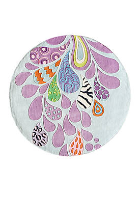 Lil Mo Hipster Paisley Area Rug 5 x 5