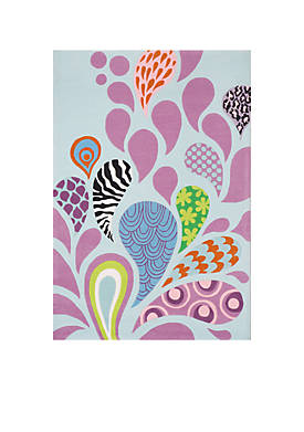 Lil Mo Hipster Paisley Area Rug 5 x 7