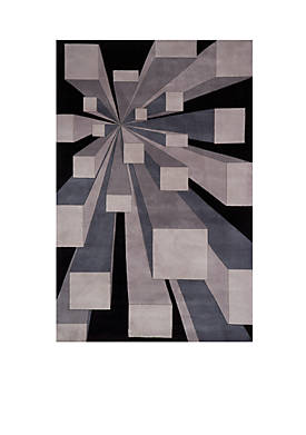 """New Wave Perspective Gotham Area Rug 36"""" x 56"""""""