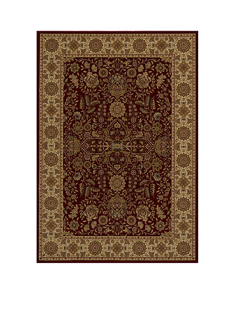 """Royal Castle Red Area Rug 311"""" x 57"""""""