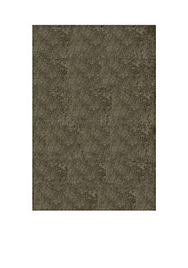 Luster Shag Solid Gray Area Rug 2 x 3