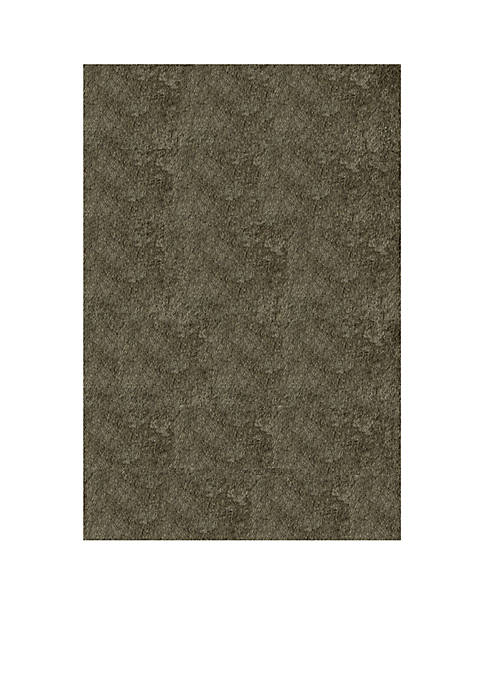 Momeni Luster Shag Solid Gray Area Rug 2