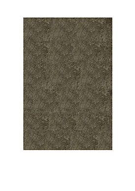 Luster Shag Solid Gray Area Rug 3 x 5