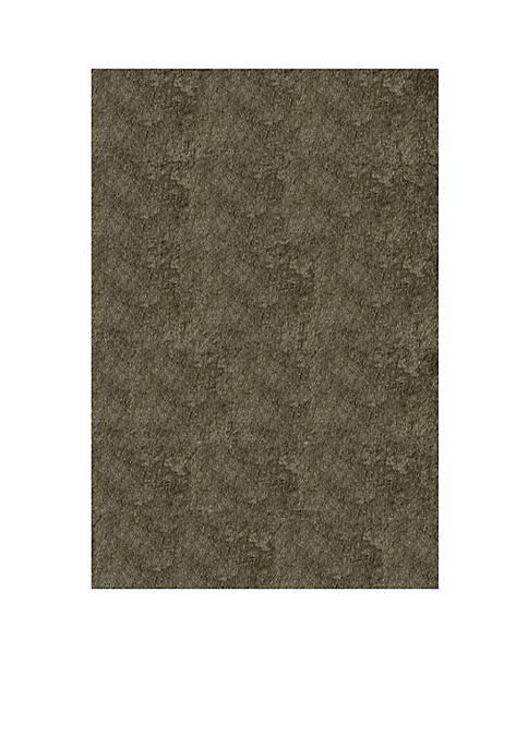 Momeni Luster Shag Solid Gray Area Rug 3
