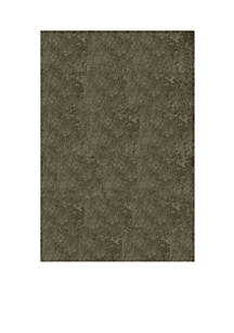 Luster Shag Solid Gray Area Rug 3' x 5'