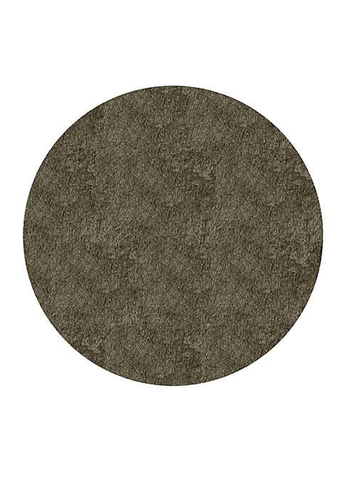 Momeni Luster Shag Solid Gray Area Rug 4