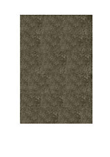 Luster Shag Solid Gray Area Rug 5' x 7'