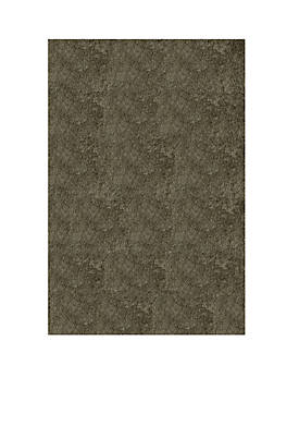 """Luster Shag Solid Gray Area Rug 23"""" x 8"""