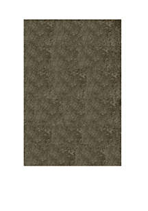 Luster Shag Solid Gray Area Rug