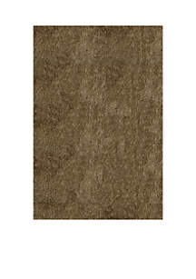 Luster Shag Solid Light Taupe Area Rug 2'3\
