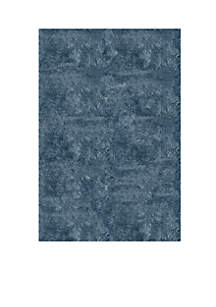 Luster Shag Solid Light Blue Area Rug 2'3\