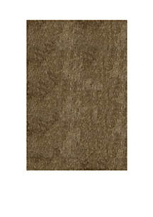 Luster Shag Solid Light Taupe Area Rug