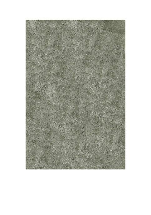 Luster Shag Sage Area Rug 3 x 5