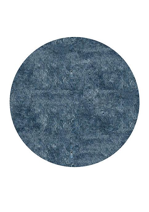 Momeni Luster Shag Solid Light Blue Area Rug