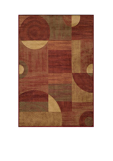 """Dream Global Red Area Rug 311"""" x 57"""""""