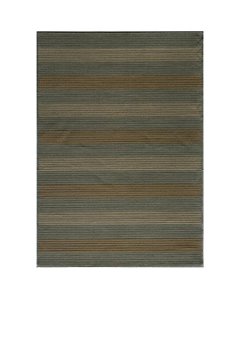 "Momeni Dream Bamboo Blue Area Rug 311"" x"