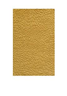 Momeni Gramercy Pebbles Gold Area Rug 2' x 3'