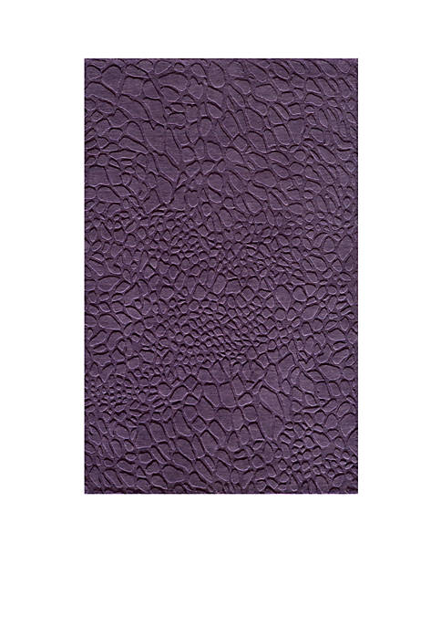 "Momeni Gramercy Pebbles Purple Area Rug 26"" x"