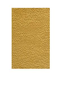 Gramercy Pebbles Gold Area Rug 2'6\