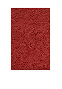 Gramercy Pebbles Red Area Rug 3'6\