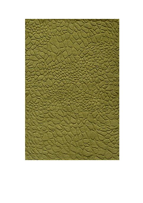 Gramercy Pebbles Grass Area Rug 5 x 8
