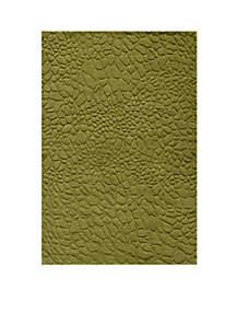 Gramercy Pebbles Grass Area Rug 5' x 8'