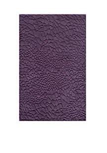 Gramercy Pebbles Purple Area Rug 5' x 8'