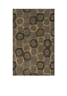Elements Honeycomb Gray Area Rug 3' x 5'