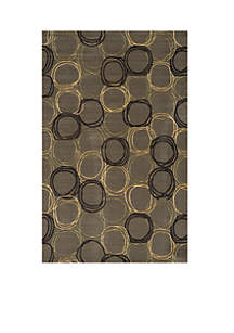 Elements Honeycomb Gray Area Rug 5' x 8'
