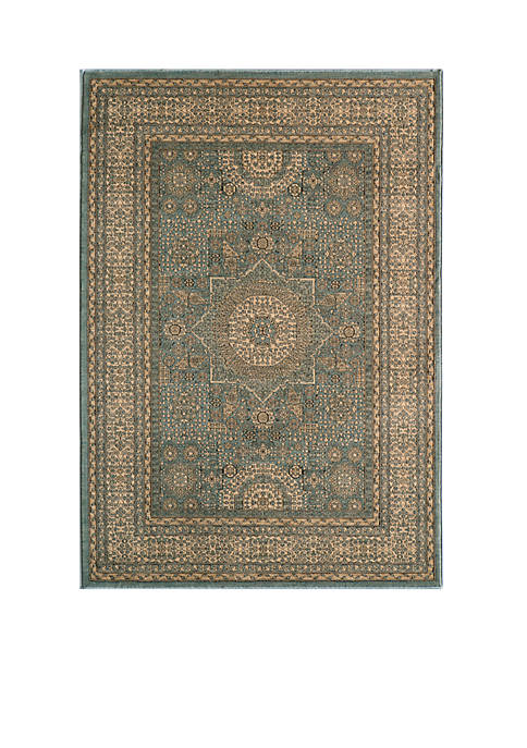 Momeni Belmont Celestial Light Blue Area Rug 23""