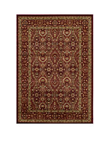 Belmont Ivy Red Area Rug 2'3\