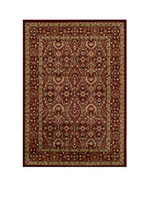 Belmont Ivy Red Area Rug 3'11\