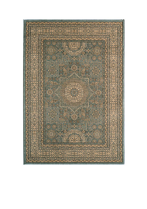 Momeni Belmont Celestial Light Blue Area Rug 53""